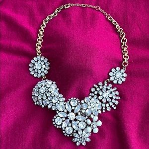J. CREW STATEMENT Rhinestone NECKLACE NEW MSRP$138
